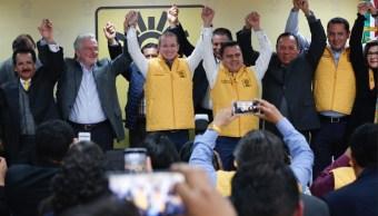 Autoritarismo del PRI provocó coalición del PRD y PAN: Anaya
