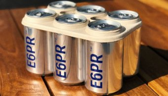Crean anillos biodegradables E6PR latas cerveza