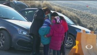 Ante nevada tome sus precauciones en Nevado de Toluca