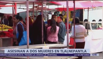 Asesinan a dos mujeres en un mercado de Azcapotzalco, vendían café