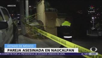 Asesinan a pareja dentro de camioneta en Naucalpan, Edomex