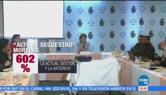 Asociación 'Alto al Secuestro' presenta estudio sobre casos de rapto