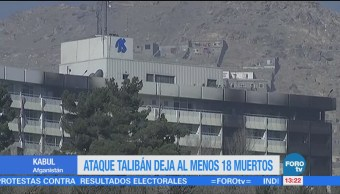 Ataque talibán deja al menos 18 muertos
