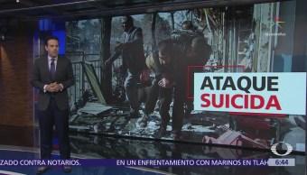 Ataque terrorista deja más de cien muertos en Afganistán