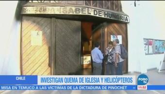 Ataques en Chile durante visita del papa