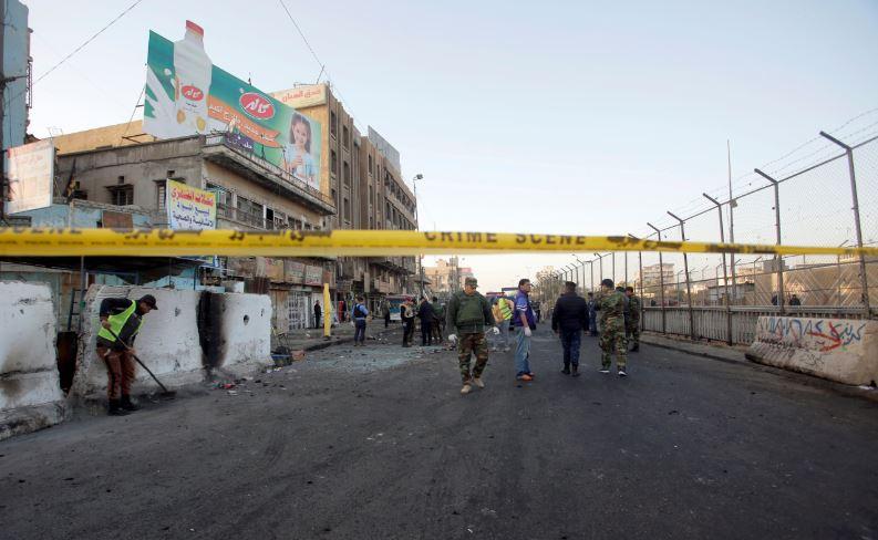 Decenas de muertos y heridos tras una doble explosión — Irak