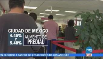Aumenta Predial Cdmx Nuevos Impuestos Ciudad De México