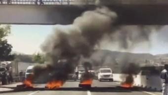 bloqueo mexico puebla exigir liberacion regidor javier huerta