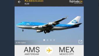 Avión KLM con rumbo a México se declara en emergencia