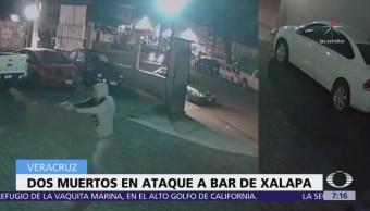 Buscan a agresores de un bar de Xalapa, mataron a dos personas