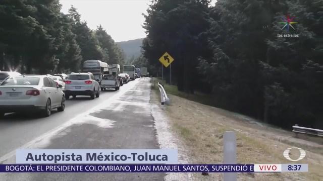 Cae aguanieve en colonias de la delegación Cuajimalpa, CDMX