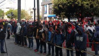 Campesinos exigen mejoras para el campo; protestan en Polanco