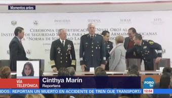 Certifican al instituto de seguridad social de las fuerzas armadas