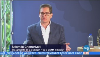 Salomón Chertorivski participa en el evento