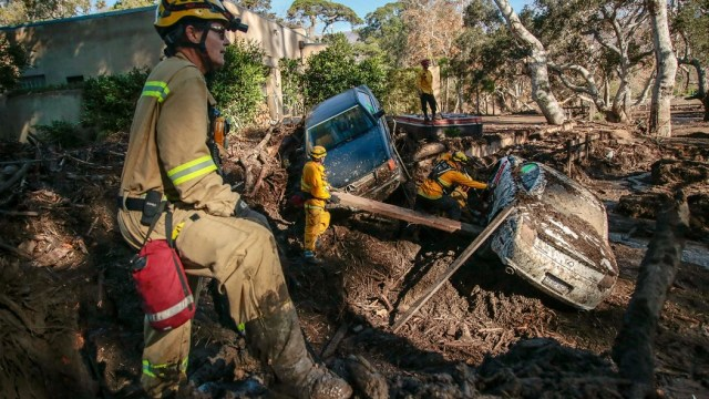 Sube 18 cifra muertos deslaves California