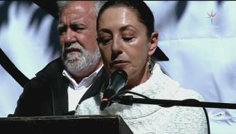 Claudia Sheinbaum regresa la delegación Coyoacán