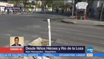 Coladera Sin Tapa Semana Niños Héroes Cdmx