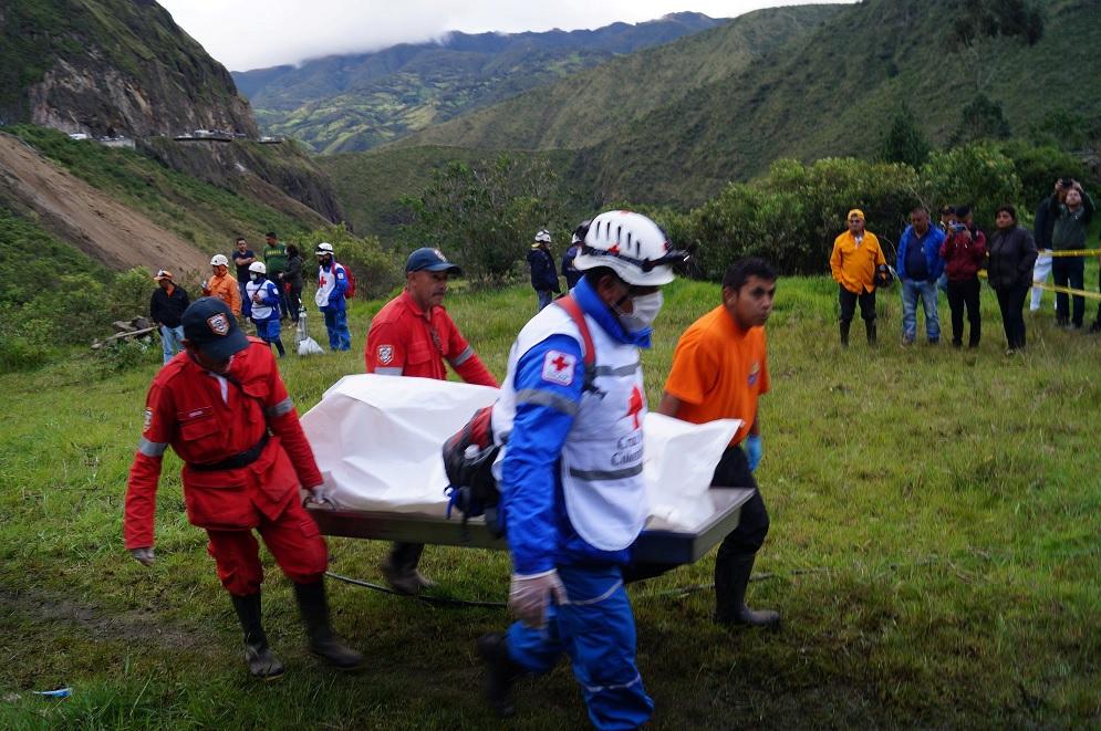 Al menos 13 personas mueren por un alud en Colombia