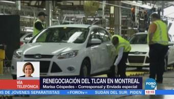 Comienza la segunda jornada de la sexta mesa de renegociación del TLCAN