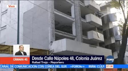 Comienzan Demoler Edificio Siniestrado Sismo Nápoles 48