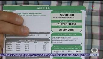 Comisión Reguladora de Energía rechaza aumento en el precio de la electricidad