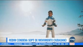 Condenan Spot Movimiento Ciudadano Niño Huichol Cantando