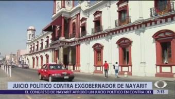 Congreso de Nayarit autoriza juicio político contra el exgobernador Roberto Sandoval