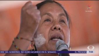 Congreso Nacional Indígena denuncia ataque contra caravana de Marichuy