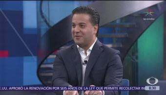 Damián Zepeda en Al Aire con Paola