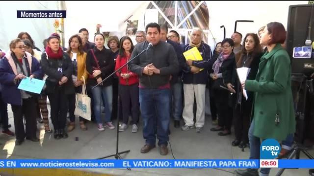 Damnificados del 19S en la CDMX exigen dictámenes y recursos