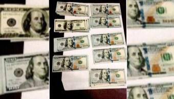 militares decomisan dolares en ensenada baja california