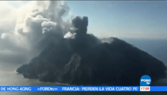 Desalojan 500 Personas Actividad Volcánica Papúa Nueva Guinea