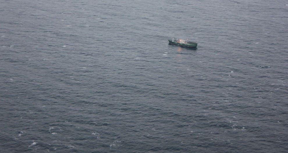 Desaparece un pesquero ruso en el mar de Japón