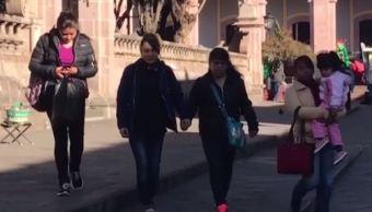 Descienden hasta 9 grados bajo cero la temperatura en Zacatecas