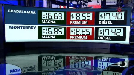Desmienten Aumento Brusco Precio Gasolinas