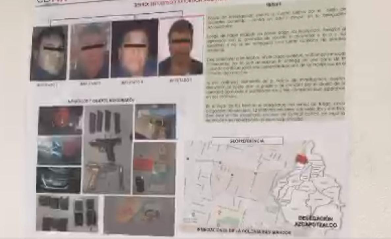 Cae banda de secuestradores encabezada por expolicía
