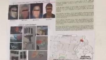 detienen 4 hombres secuestro adulto mayor cdmx