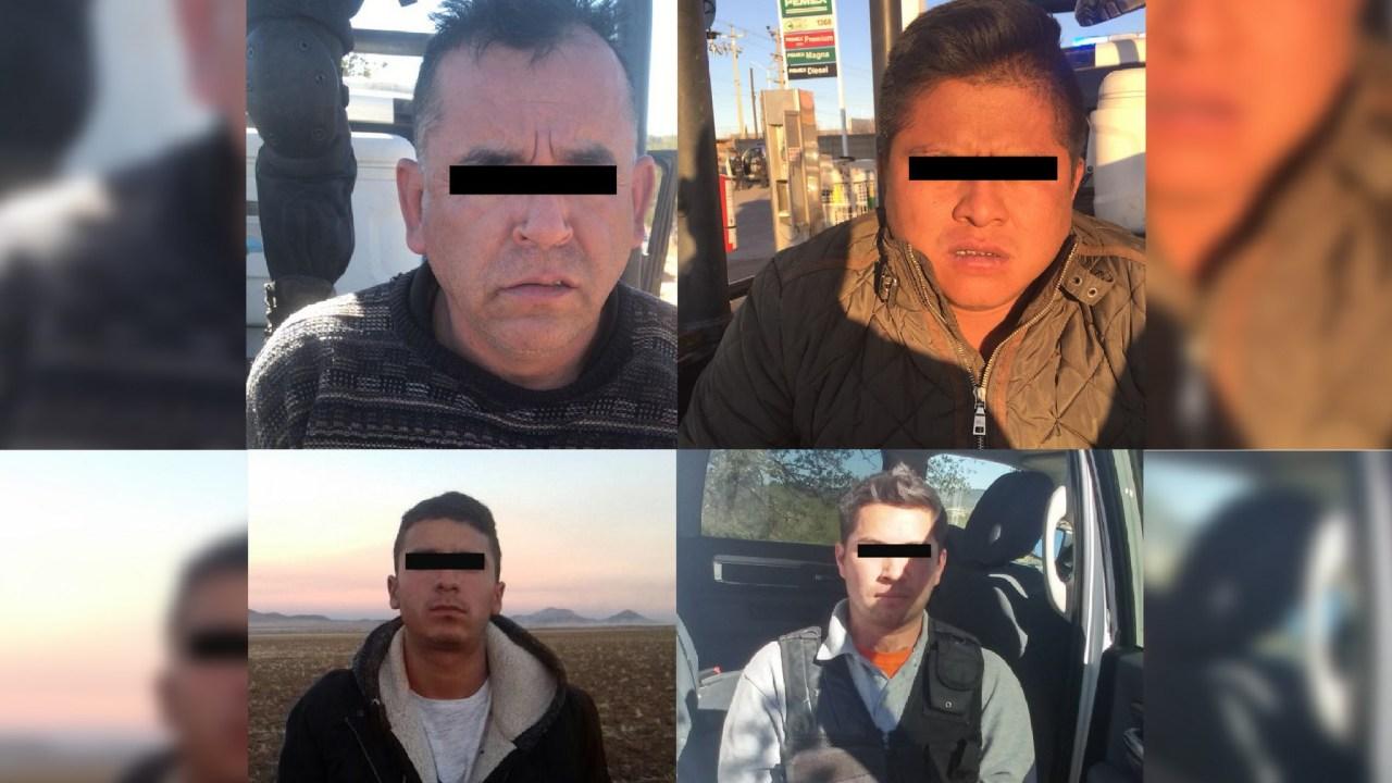 Detienen a cuatro delincuentes en Carichí, Chihuahua
