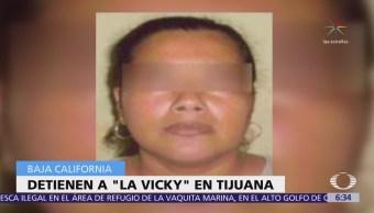 Detienen a 'Vicky', secuestradora vinculada a 'Los Rojos'