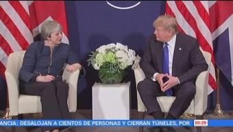 Discurso de Trump genera gran expectativa en Foro Económico Mundial