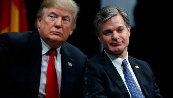 Christopher Wray, director del FBI amenaza con renunciar, según medios
