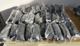 Ejército mexicano asegura metanfetamina en Sonora