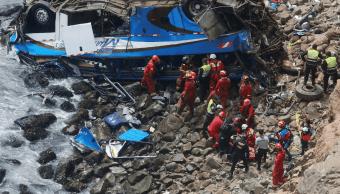 El accidente en Perú dejó más de 50 muertos. (AP)