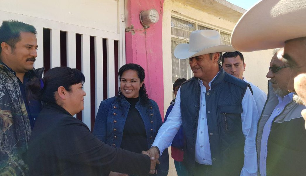 'El Bronco' recorre comunidades rurales de Galeana