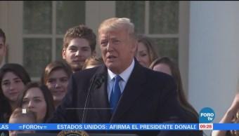 El camino de Donald Trump tras un año al frente de la Casa Blanca