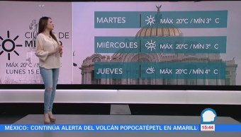 Clima Maye Carranco Prevén Bajas Temperaturas