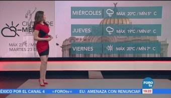 Clima Hora Mayte Carranco Causa Del Frente Frío