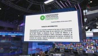 El ONC colaborará en investigación sobre Marco Antonio Sánchez
