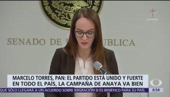 El PAN no podía ser objeto de chantajes, dice Marcelo Torres