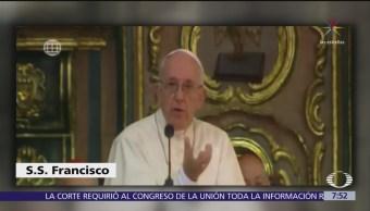 El papa Francisco compara a las monjas chismosas con terroristas